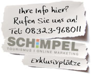 Info Christian Schimpel, Immenstadt, Tourismus und Online Marketing